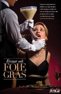 Foie gras is dierenmishandeling